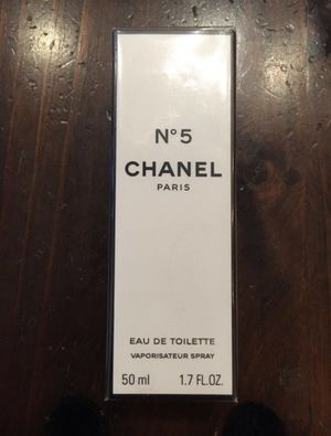 Chanel N*5 Women Eau de toilette/perfume BRAND NEW - ORIGINAL PACKAGE!!! for Sale in Guttenberg, NJ