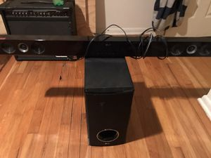 LG Sound-bar and Subwoofer for Sale in San Antonio, TX