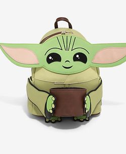 Baby Yoda The Child Loungefly Backpack Brand New Never Used $85 for Sale in Huntington Beach,  CA