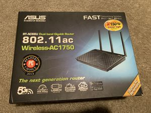 ASUS AC-66U 5Ghz / 2.4Ghz AC1750 WiFi Router for Sale in Corona, CA