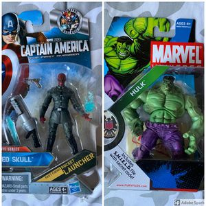 Marvel Universe Mix Action figure lot Series 3 & Marvel Studios for Sale in Brooklyn, NY