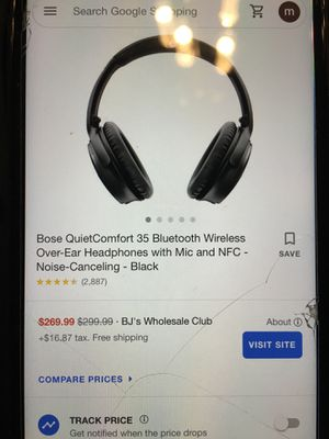 Bose quiet comfort 35 for Sale in Revere, MA