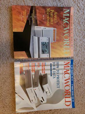 Vintage Macworld magazines for Sale in Sterling, VA