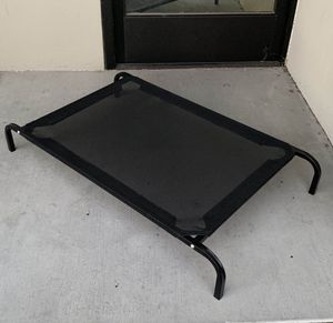 New in box M Medium raised dog pet cot bed 42x25x6 inches tall for pets up to 70 lbs capacity elevated cuna de perro for Sale in Los Angeles, CA