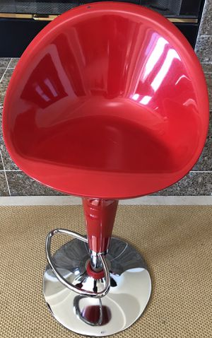 SAFAVIEH Red Zorab Bar Stool without Lift for Sale in Pacifica, CA
