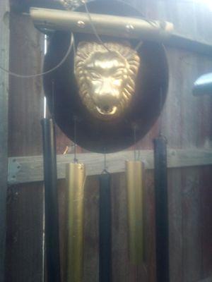 Lionhead wind chime. for Sale in Selma, CA
