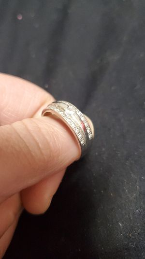 Mens ring white gold 14k for Sale in Chicago, IL