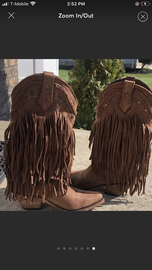 Fringe boots for Sale in Grand Prairie, TX