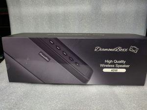 DiamondBoxx 40w Bluetooth speaker for Sale in San Jose, CA
