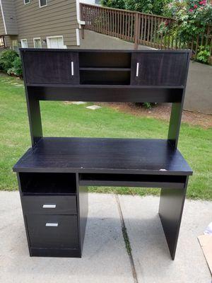 Small desk with hutch for Sale in Douglasville, GA