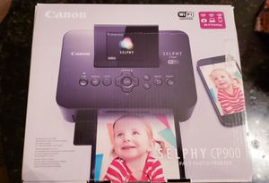 Canon Selphy CP 900 for Sale in Seattle, WA