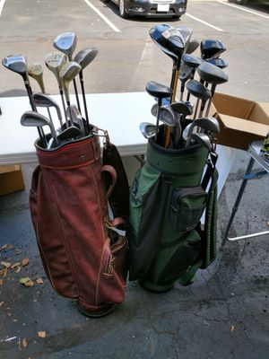 2 bags full of golf clubs for Sale in Columbus, OH