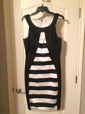 Jax black and white cocktail dress (size 10) - New with tags for Sale in Austin, TX