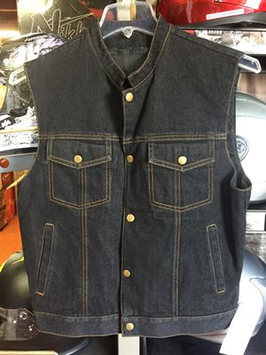 New club style motorcycle vest $80 for Sale in Whittier, CA