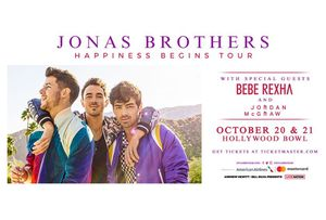 Jonas Brothers: Happiness Begins Tour Hollywood Bowl October 20th for Sale in Los Angeles, CA