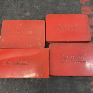 4 Empty Snap On Tool Cases for Sale in Glenview, IL