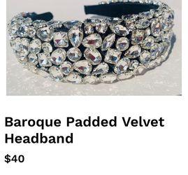 Baroque Padded Velvet Headband for Sale in Chicago,  IL
