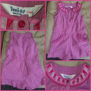 Youth Girl 3 Outfits **$10 each/$25 for ALL!*, Size 24 Mo/2 Yr. A Romper, Dress & Overalls. for Sale in Crosswicks, NJ