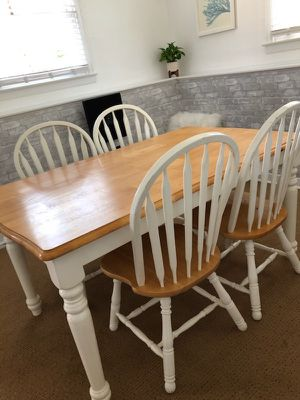 Light wood dining table 56x 36 for Sale in Fort Washington, MD