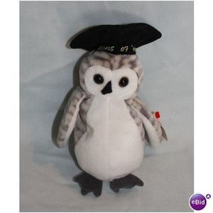 1999 Ty Beanie Babies Wiser the Owl with Tag for Sale in San Antonio, TX