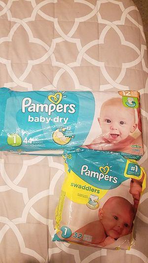 Pampers biapers size 1 for Sale in Chula Vista, CA