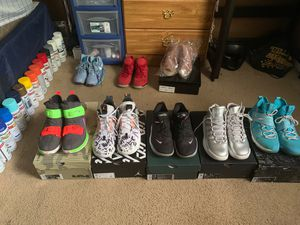 Shoe Bundle Of Jordan's and Nike's for Sale in Ellenwood, GA
