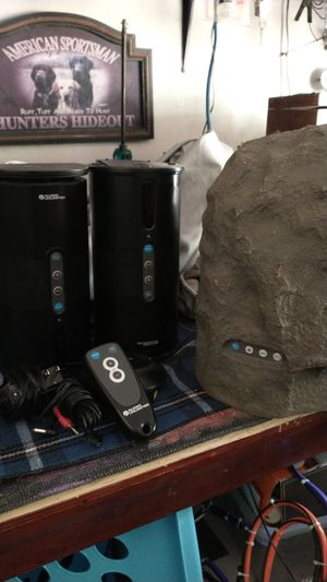 Audio Unlimited wireless speakers for Sale in Georgetown, TX