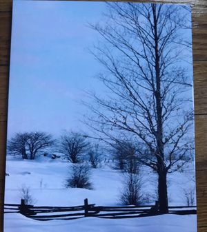 Winter Theme School Composition Book Beautiful Winter Journal Book Diary 130 Pages Winter Landscape Photo Journal Books Notebooks) for Sale in Chicago, IL