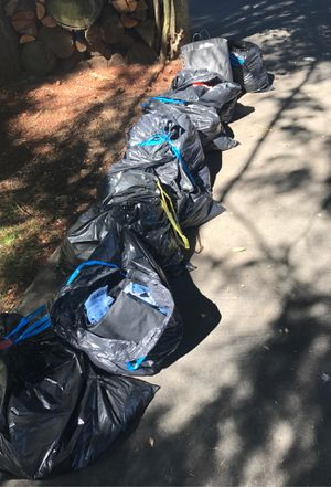 Pending pick up - FREE CLOTHES 9 bags for Sale in Renton, WA