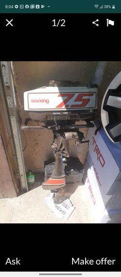 Sea king 7.5 Boat motor for Sale in Yakima,  WA