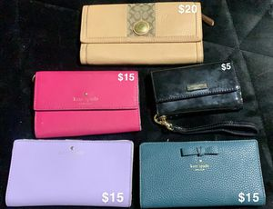 Kate Spade Wallets ( All different prices) for Sale in Pomona, CA