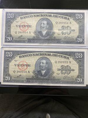 Billetes del caribe serie 1960 consecutiva for Sale in Zephyrhills, FL