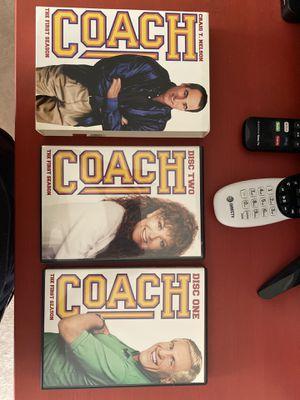 Coach Season 1 DVD for Sale in Katy, TX