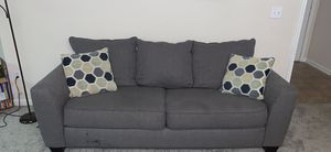 Grey Couch for Sale in Kennesaw, GA