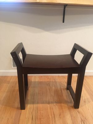 Wooden sitting stools x2 for Sale in Pacifica, CA