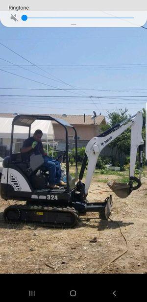 Bobcat and escavator for Sale in La Verne, CA