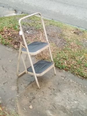Metal folding step ladder for Sale in Beaumont, TX