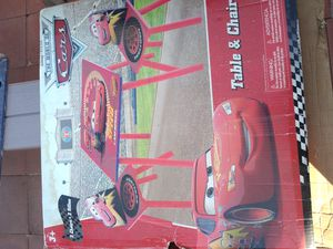 Kids table and chairs n more Disney Cars for Sale in Los Angeles, CA