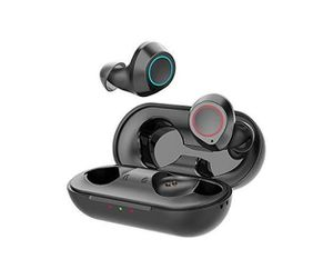 Langsdom Wireless Earbuds,Bluetooth 5.0 Earbuds Stereo Bass Bluetooth Wireless Headphones, 24Hrs Playtime,IPX6, Wireless Earphones with Charging Case for Sale in Rancho Cucamonga, CA