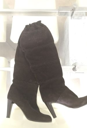 COACH BOOTS BROWN SUEDE- size 9 1/2M for Sale in Miami, FL