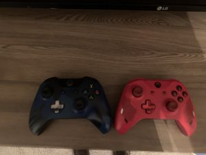 Two Xbox One Controllers for Sale in Waldorf, MD