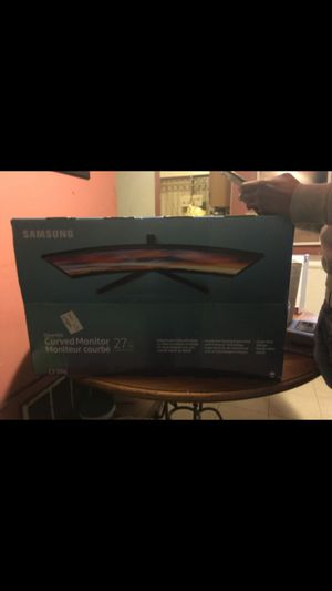 Samsung curve computer monitor for Sale in Philadelphia, PA