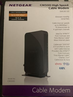 Cable modem for Sale in San Diego, CA
