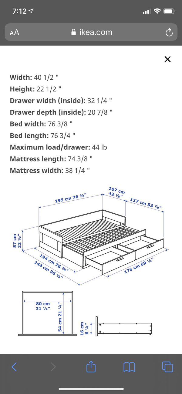 Daybed with Mattresses