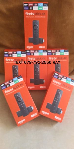 Brand New / Fully Unlocked /HDR 4K Fire TV Stick for Sale in Morrow, GA