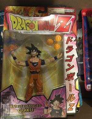 Battle damaged Goku Dragon ball Z action figure for Sale in Oakley, CA