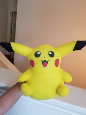 Pikachu stuffed animal for Sale in Round Rock, TX