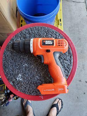 20v black and decker drill for Sale in La Mesa, CA