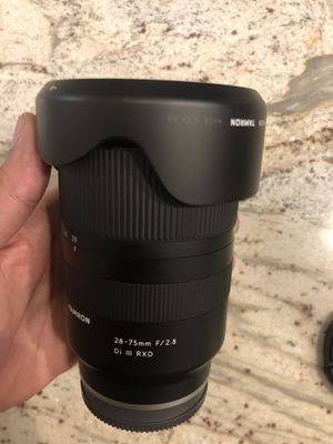 Tamron 28 - 75 Sony lens for Sale in Farmers Branch, TX
