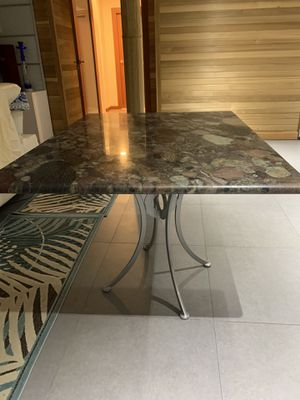 Granite kitchen table for Sale in Brooklyn, NY